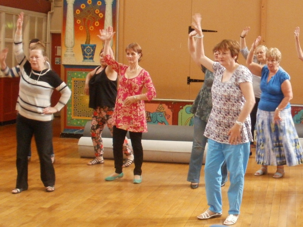 Samba chill - Brazilian round with dance moves!