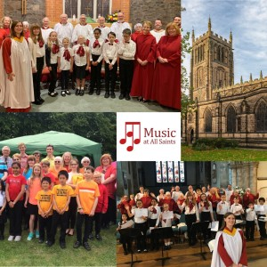 All Saints Church Choir photo montage