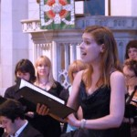 Emma Trounson singing Pie Jesu from Faure Requiem